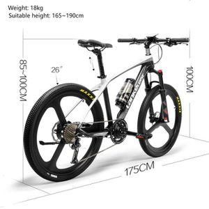 VÉLO ASSISTANCE ÉLEC LANKELEISI S600 Super-Light 18kg Vélo de Montagne
