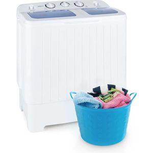 MINI LAVE-LINGE oneConcept Ecowash  Machine à laver 4,2 kg Essoreu
