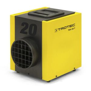 RADIATEUR D'APPOINT Chauffage électrique de chantier Trotec TEH 20 T