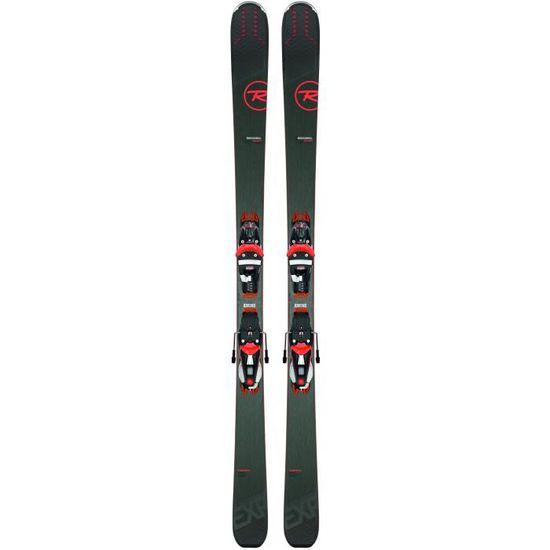 Mini ski occasion Rossignol Scratch Free ZB fixations