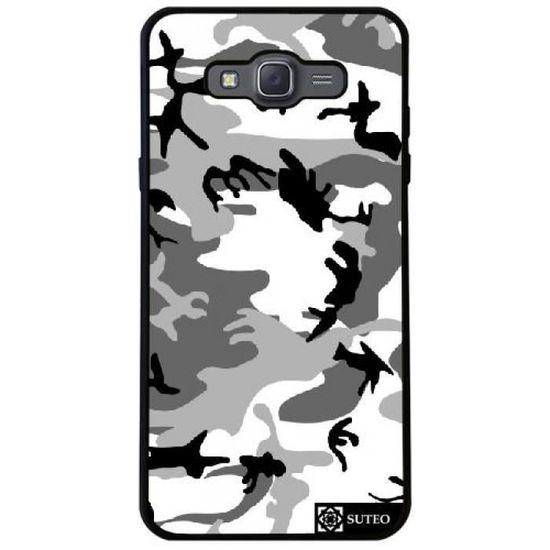 Coque Silicone pour Samsung Galaxy J7 2016 (SM-J710) - Camouflage ...