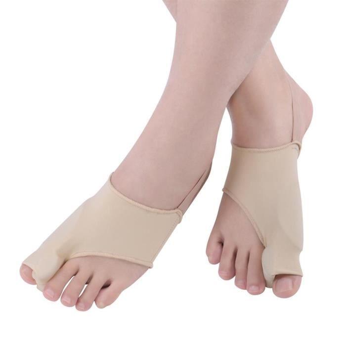 Correcteur hallux valgus amélioré Jour et nuit avec ceinture de correction pour gros orteils en os Silicone-OHL