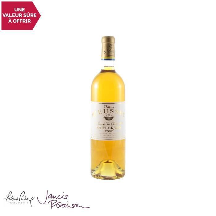 Château Rieussec Blanc 2002 - 75cl - Appellation AOC Sauternes - Vin Doux Blanc de Bordeaux - 17-20 Jancis Robinson - Cépages