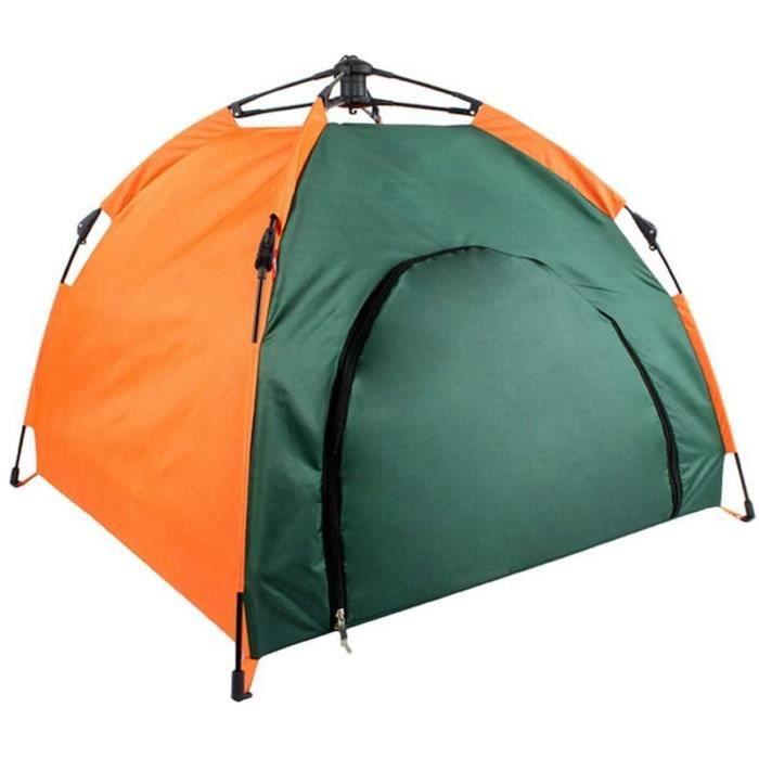 ColorfulLaVie Extérieure Étanche Pet Tente Semi-Automatique Pliable Chat Chien Portable Polyester Maison Pet Tipi Chien 607253