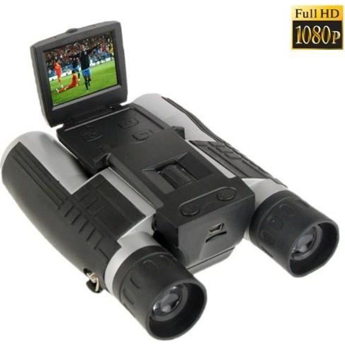 Jumelle avec Caméra HD 5 Mégapixels (jumelle binoculaire 12x32)