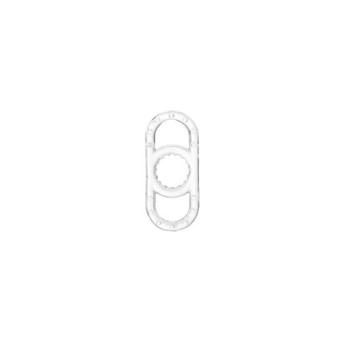 Anneau de pénis éjaculation retard anneaux de pénis anneaux de coq anneau d'érection mâle civiè - Modèle: Transparent - YLYJHB03323