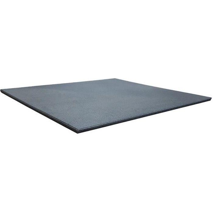 Dalle de sol pour salle de sport 20 mm - 100 x 100 cm - gris