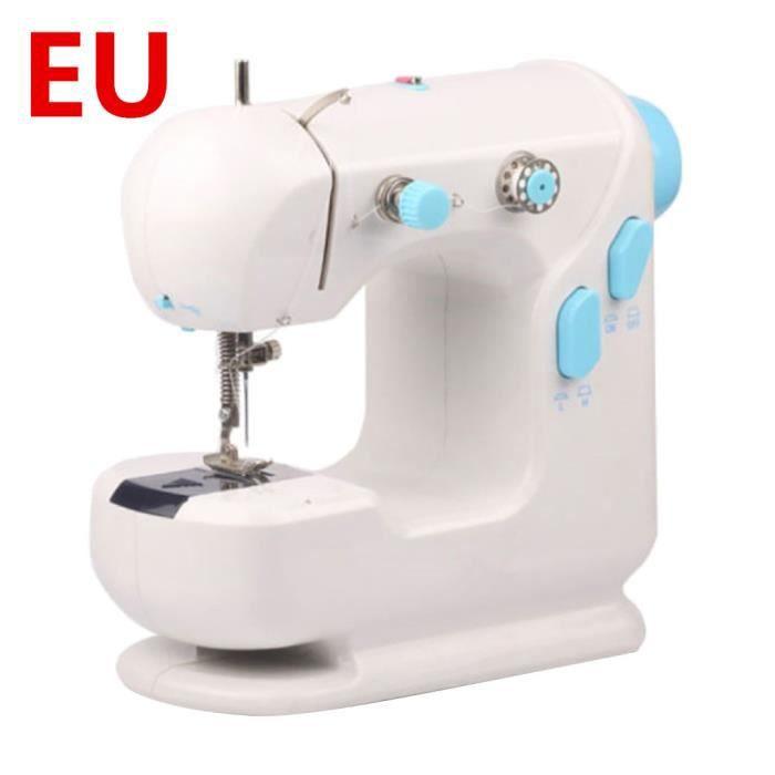 MACHINE A COUDRE,Machines à coudre pour masques bricolage,Mini Machine à coudre portative,Machine à coudre électrique,- EU