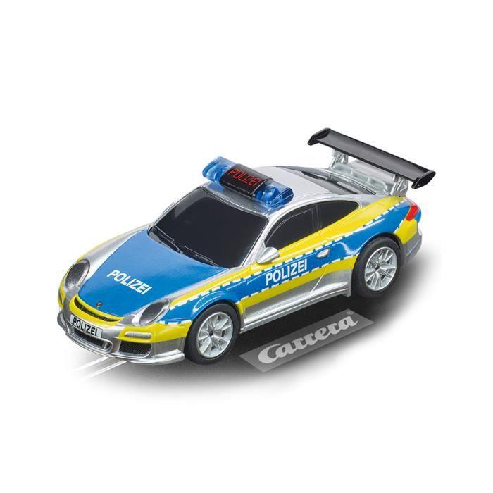 Carrera voiture de course Digital 143 Porsche 911 1:43 jaune/gris