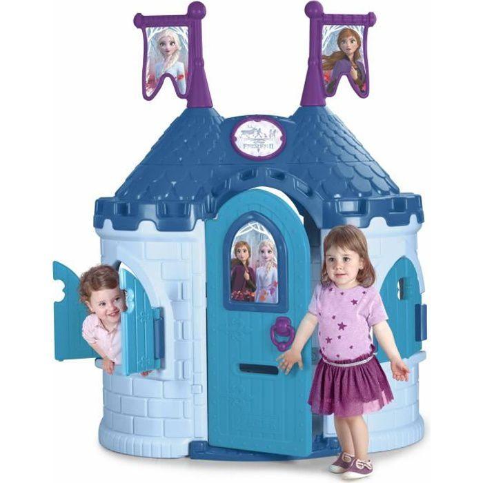 Château pour enfant - La Reine des neiges 2 - FEBER - avec 2 tours