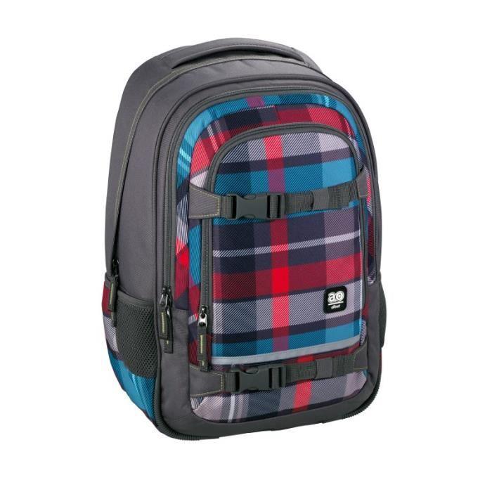 Manhattan Portage Stuyvesant Backpack - gris/rouge