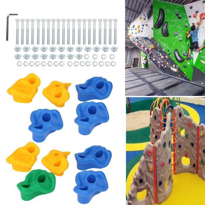 Équipement de divertissement monter le mur enfants petit escalade de roche tient l'accessoire d'ensemble-CET
