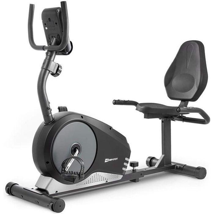 Vélo d'appartement semi-allongé Root HS-040L vélo assis max120 kg Masse de la roue d'inertie de 9,5 kg