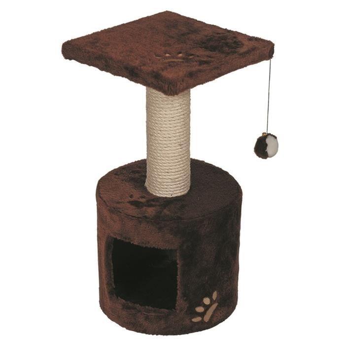 VADIGRAN Grimpoir Bongo - 30x30x59cm - Brun - Pour chat