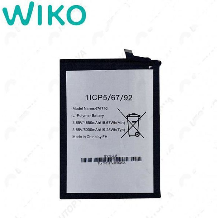 Originale Batterie Pour Wiko View 4