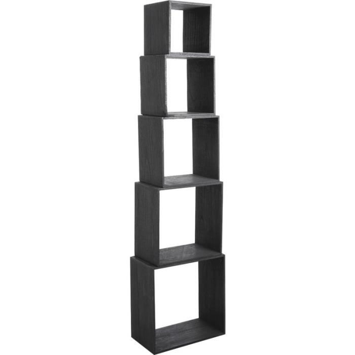 etagere cube bois achat vente etag re murale etagere. Black Bedroom Furniture Sets. Home Design Ideas