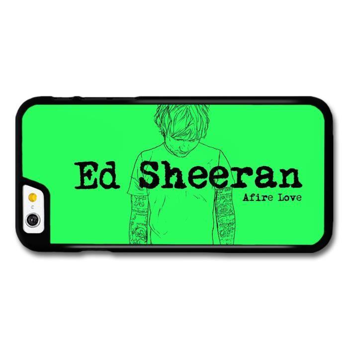 Ed Sheeran Afire Love Song coque pour iPhone 6 - Cdiscount Téléphonie