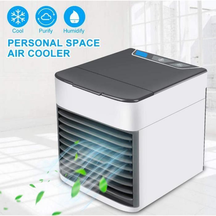 Mini portable refroidisseur dair espace personnel portable climatiseur mobile Portable mini USB ventilateur de bureau humidificateur pour bureau accueil voyage en plein air