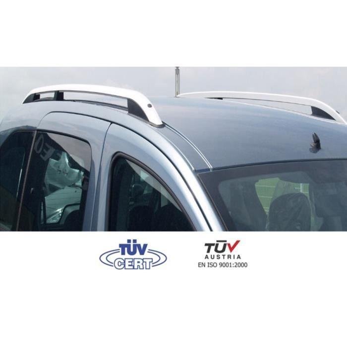 Jeu de 2 Barres de toit Pro Fiat Fiorino 3//4P d/ès 2008