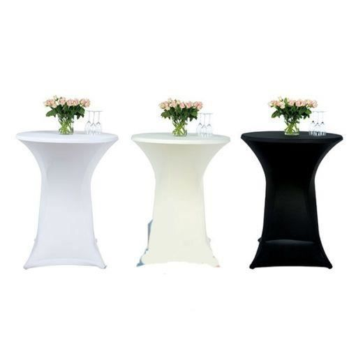 couleur ecru nappe extensible table haute bar achat. Black Bedroom Furniture Sets. Home Design Ideas