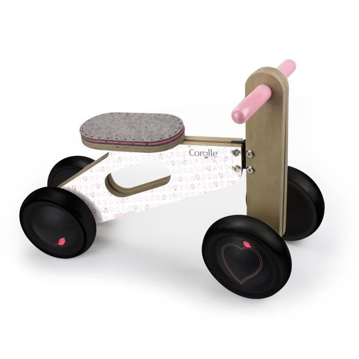 COROLLE - Petit porteur bois 4 roues