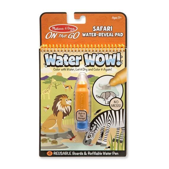 MAQUILLAGE Melissa & Doug - Water Wow! Safari - MELISSA & DOU