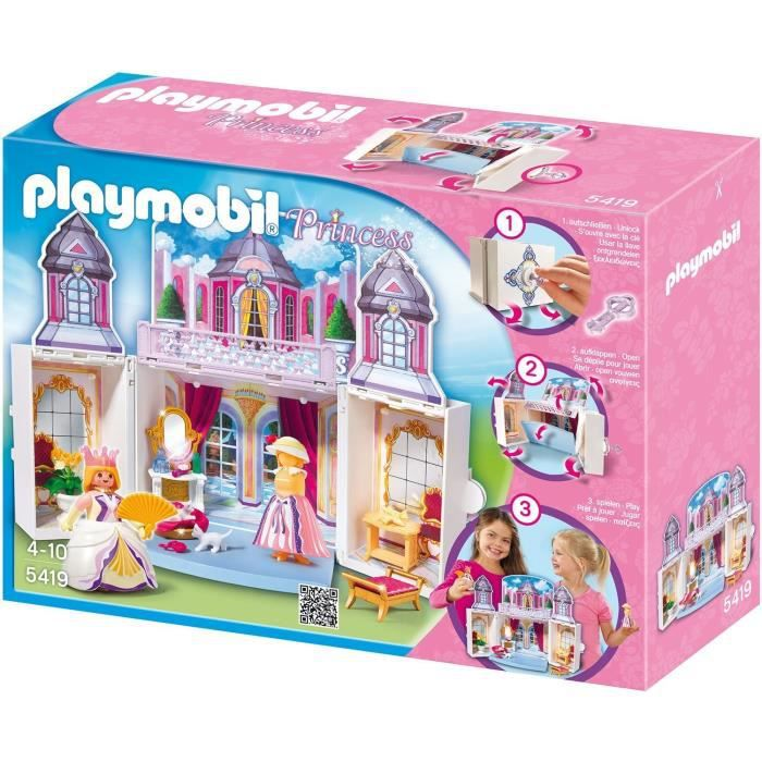 Chateau de princesse playmobil for Playmobil princesse 5142