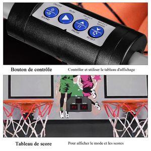 97-170 cm Jouet de basket-ball stable et fiable pour lext/érieur avec ballon et pompe pour enfants Kit de support de basket r/églable Panier de basketball pour enfants