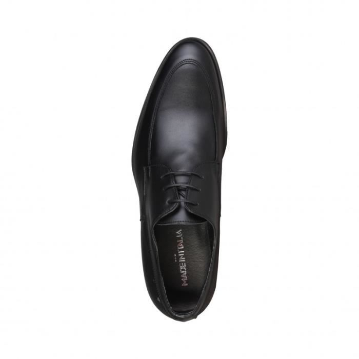 Moliere - Made in Italia - Chaussures à lacets pour Homme noir Made in Italia