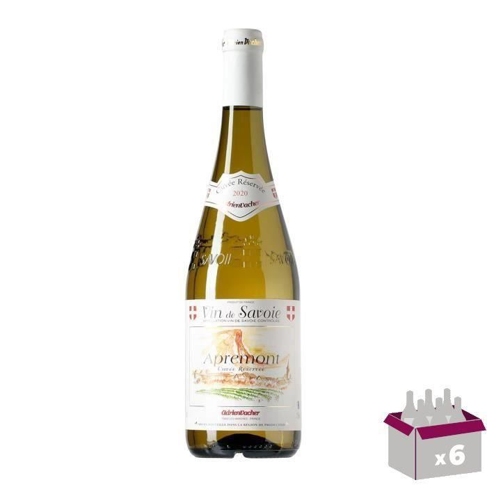 Appremont Vin de Savoie - Blanc - 75 cl x6