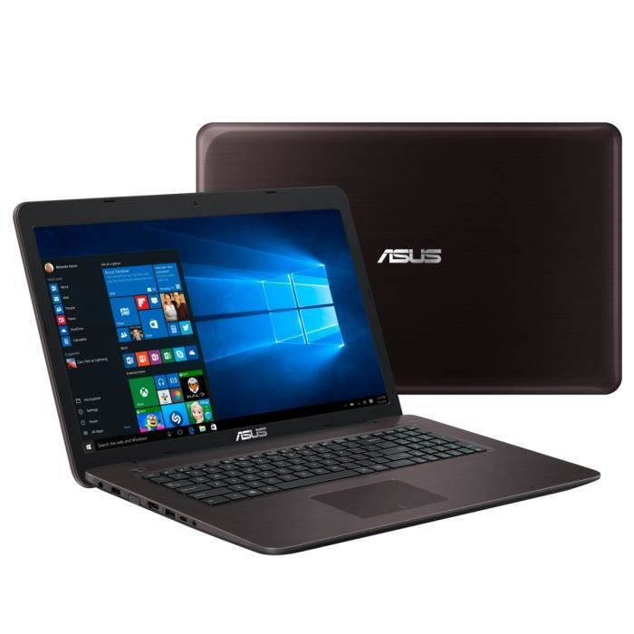asus pc portable k756uq ty141t 17 3 8go de ram. Black Bedroom Furniture Sets. Home Design Ideas