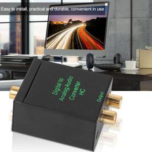 REPARTITEUR TV Convertisseur signal numérique analogique audio ad