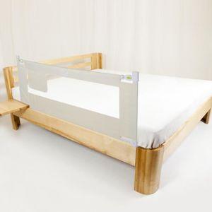 BARRIÈRE DE LIT BÉBÉ LIUX Barrière de Lit Bebe-Enfant Pliable, blanc (1
