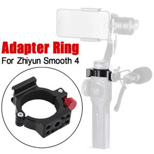 DRONE Cold Shoe Adapter Ring Applied to Rode Microphone
