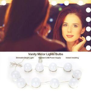 AMPOULE - LED 10 LED ampoule de Dimmable pour miroir de maquilla