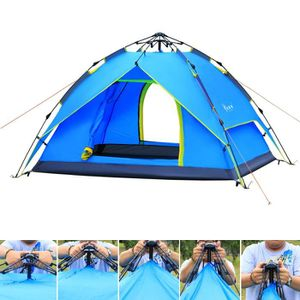 TENTE DE CAMPING Tente de camping de randonnée extérieure pliable à