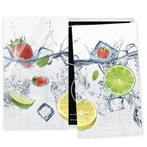 PLAQUE INDUCTION Couvre plaque de cuisson - Fruit Cocktail - 52x60c