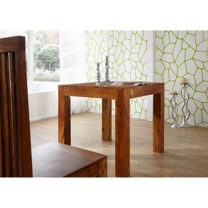 TABLE À MANGER SEULE Table à manger carrée 80x80 cm, 2 Personnes, Bois