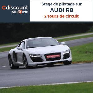 Spectacle Stage pilotage sur Audi R8 - 2 Tours