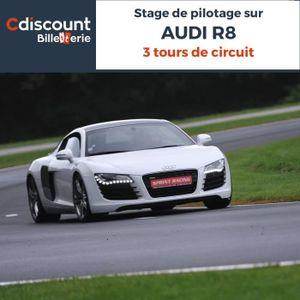 Spectacle Stage pilotage sur Audi R8 - 3 Tours