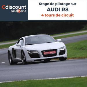 Spectacle Stage pilotage sur Audi R8 - 4 Tours