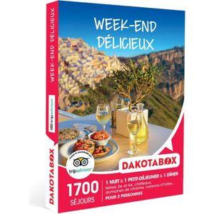 COFFRET SÉJOUR DAKOTABOX - Coffret Cadeau -Week-end délicieux - 1