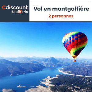 Parcs de loisirs Vol en Montgolfière - 2 personnes - 28 lieux en Fr