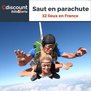Loisirs Saut en parachute - 32 lieux en France