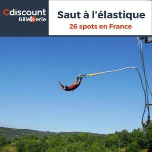Spectacle Saut à l'élastique - 26 spots en France