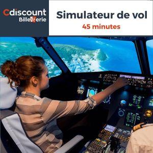 Loisirs Simulateur de vol - 45 minutes - 11 lieux