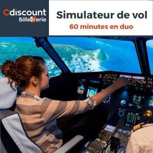 Loisirs Simulateur de vol - 2 personnes - 60 minutes (30 m