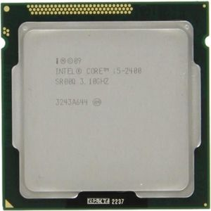 PROCESSEUR Processeur CPU Intel I5-2400 Quad Core 3.1Ghz Sock