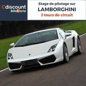 Spectacle Stage pilotage sur Lamborghini - 3 Tours