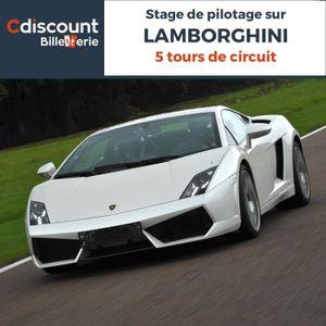 Spectacle Stage pilotage sur Lamborghini - 5 Tours